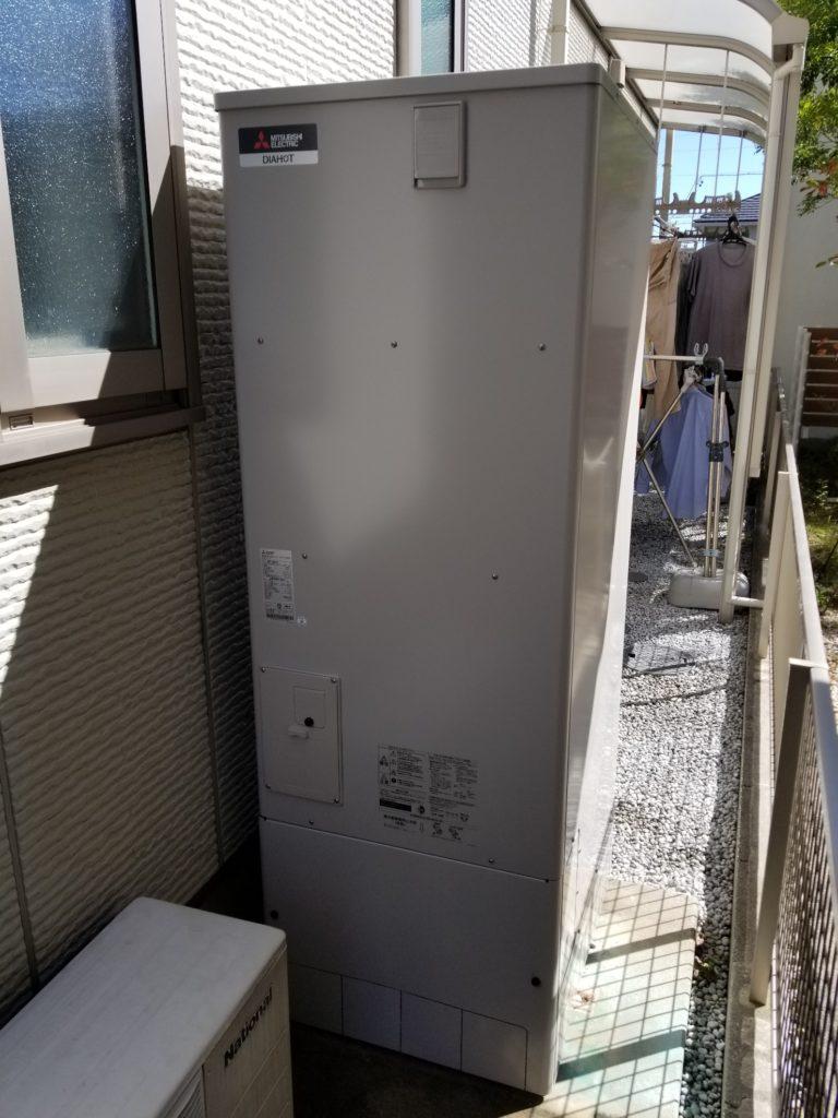 津島市 エコキュート交換工事 画像