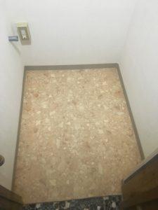 名古屋市 トイレ床張替え 画像