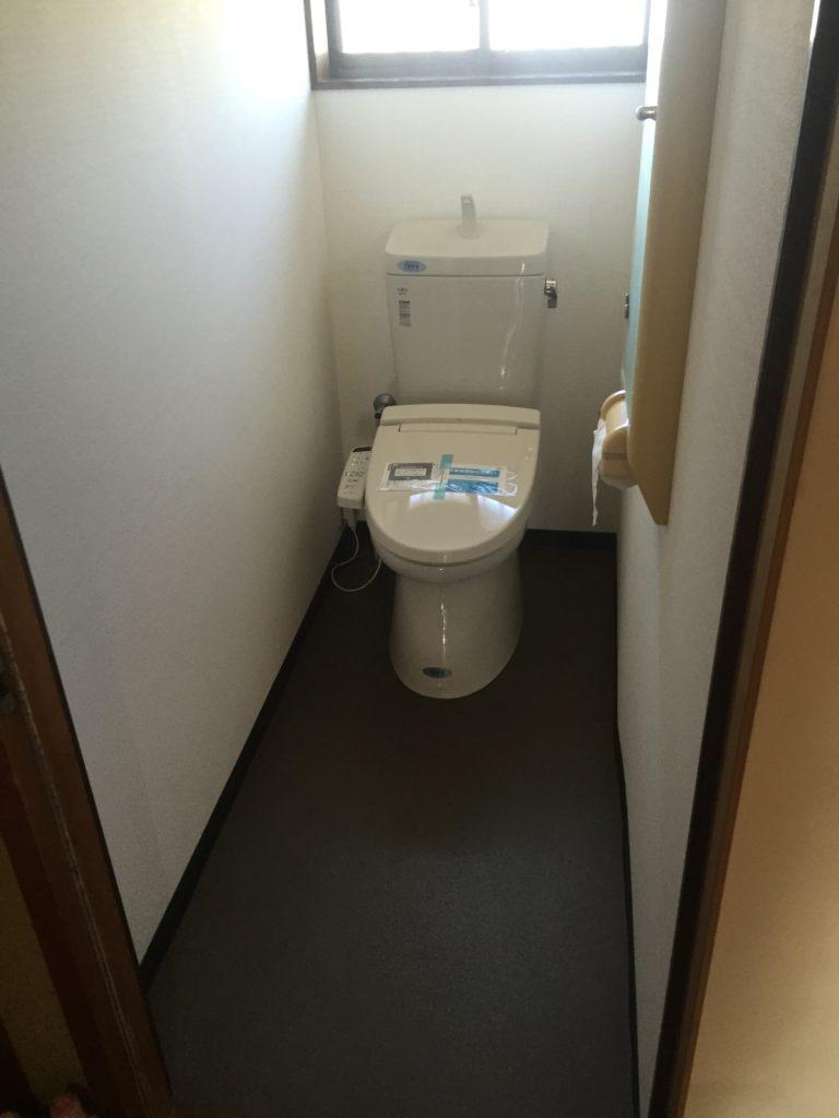 桑名市トイレ工事 画像