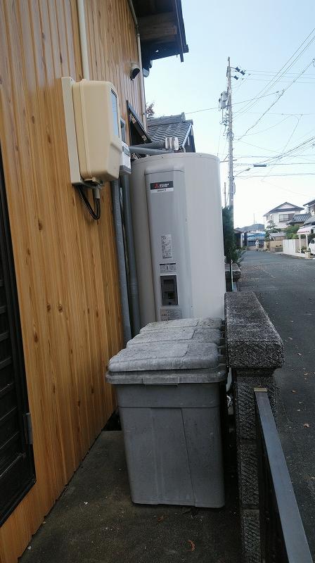 大治町 電気温水器交換工事 画像