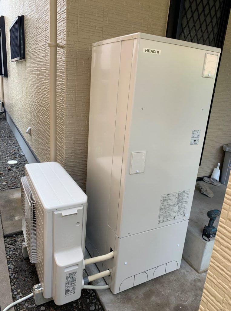 羽島市 エコキュート交換工事 画像
