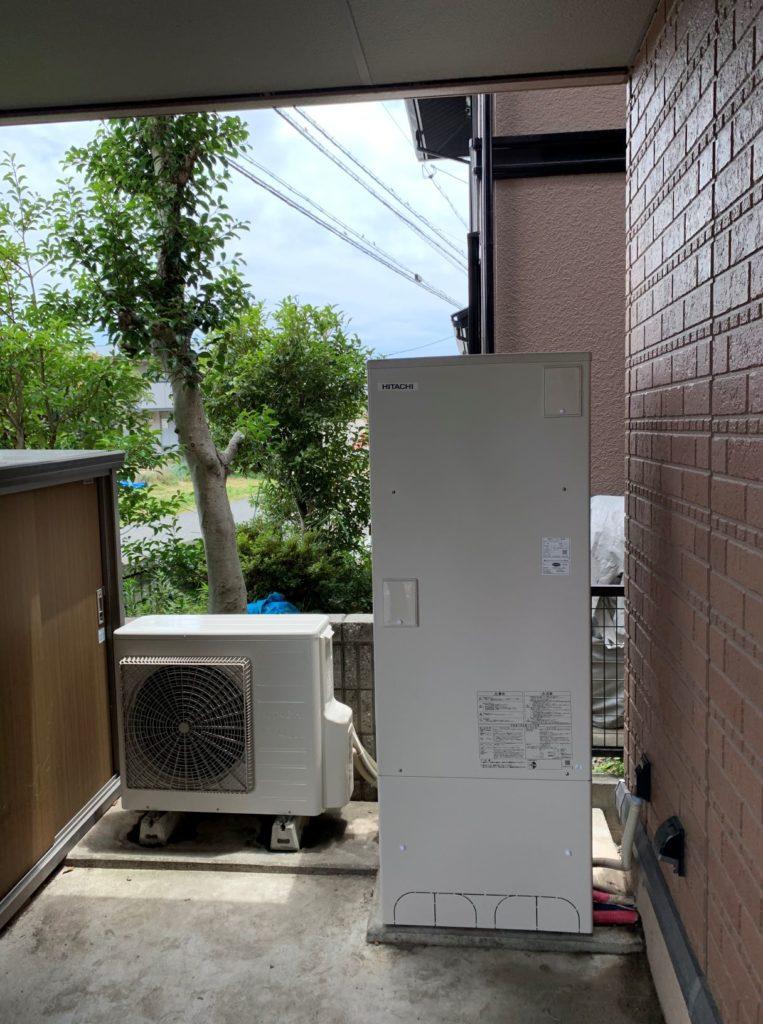 羽島郡 エコキュート交換工事 画像