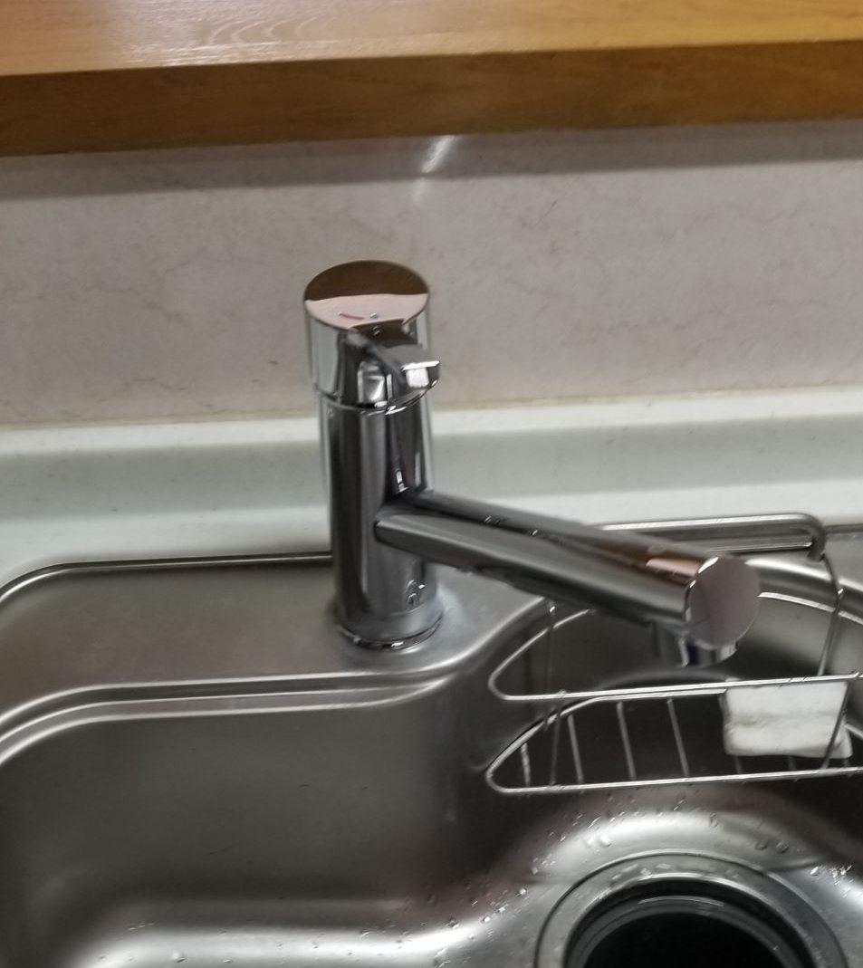 一宮市キッチン水栓交換工事