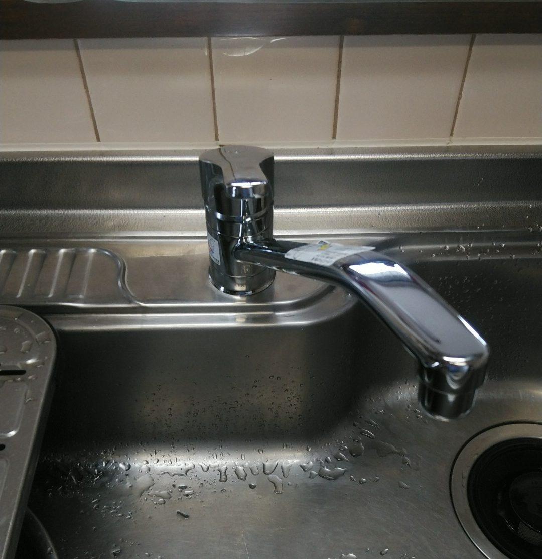 キッチン水栓交換工事 三重県桑名市