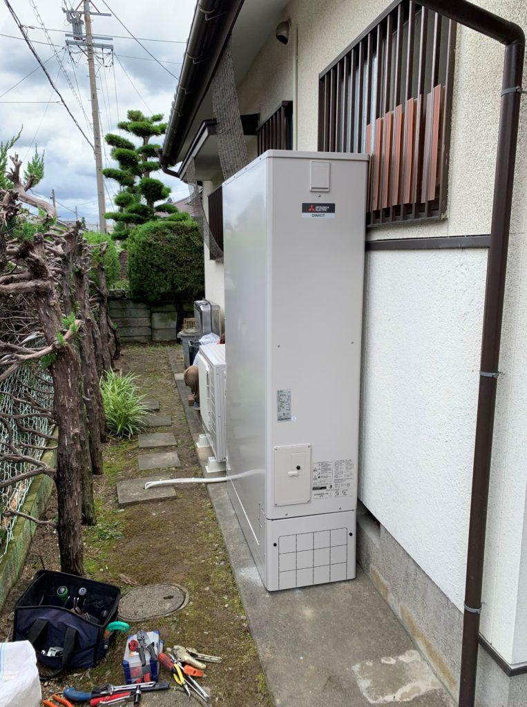 エコキュート交換工事 津島市