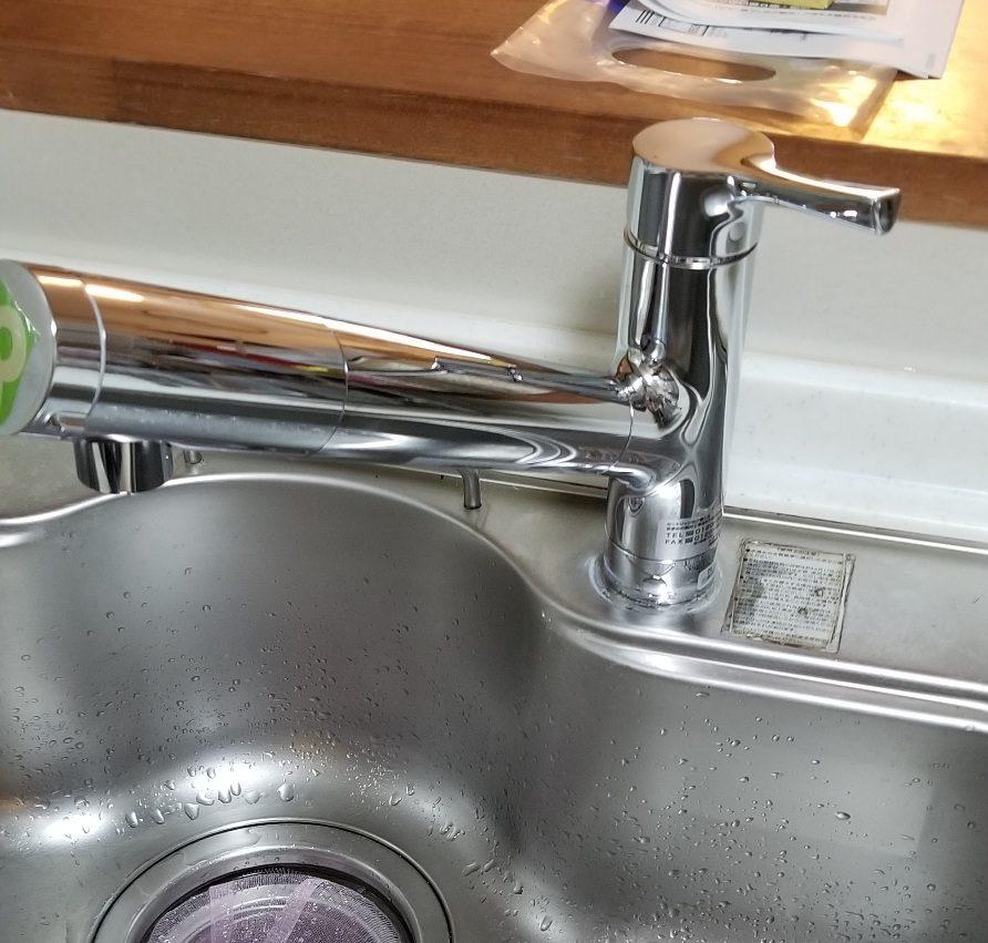 キッチン水栓交換工事 名古屋市天白区