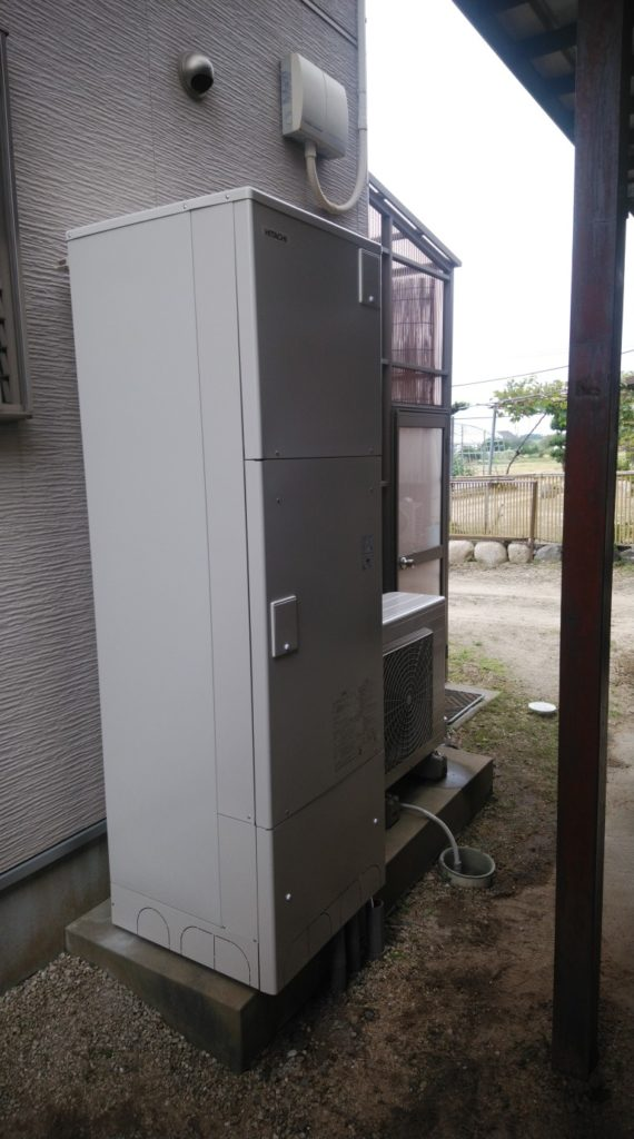 名古屋市 エコキュート交換工事