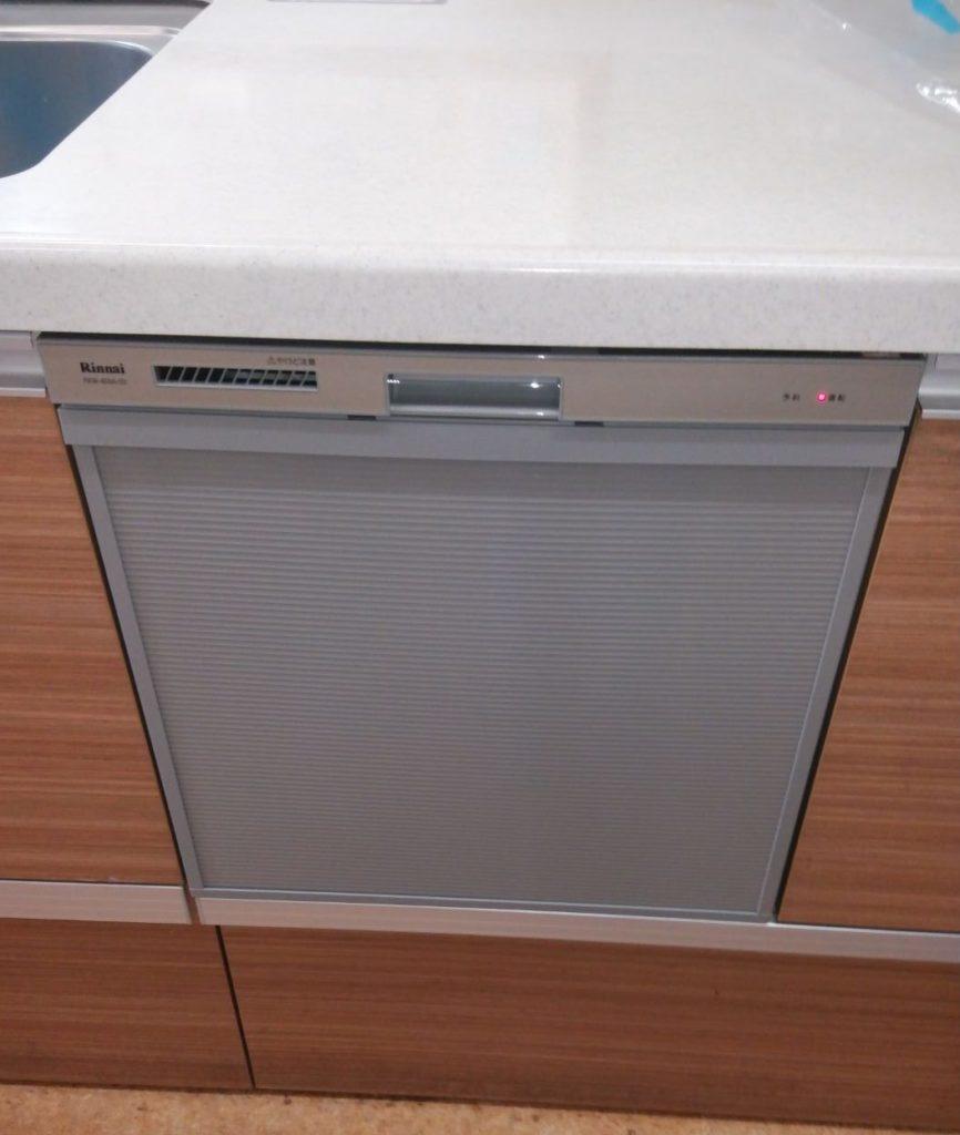 食洗機交換工事 名古屋市 画像