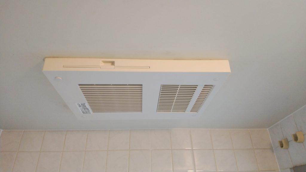 名古屋市熱田区 浴室暖房乾燥機交換工事 画像