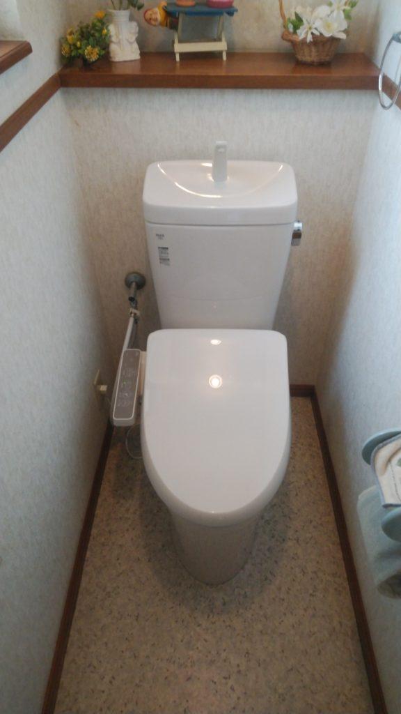 津島市 トイレリフォーム 画像