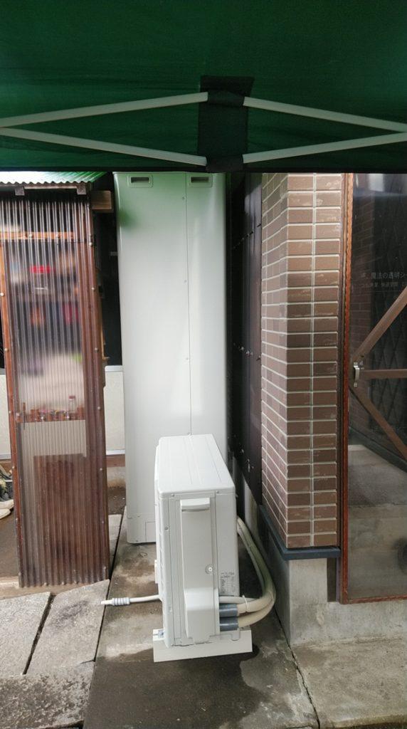 犬山市 エコキュート交換工事 画像