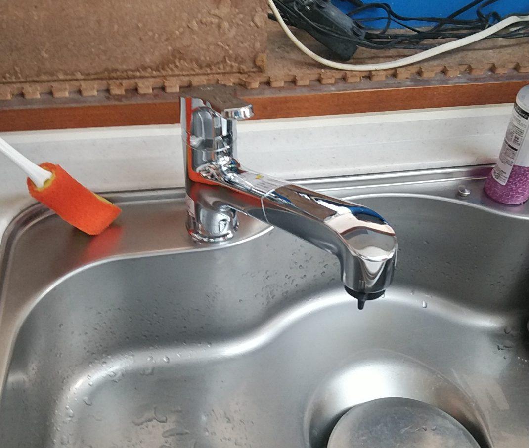 キッチン水栓交換工事 清須市
