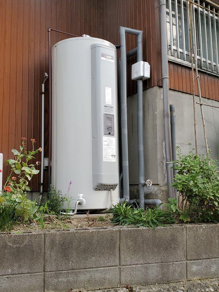 名古屋市 電気温水器交換工事 画像