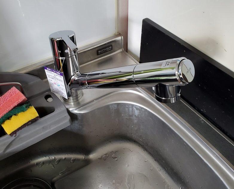 キッチン水栓交換工事 名古屋市東区