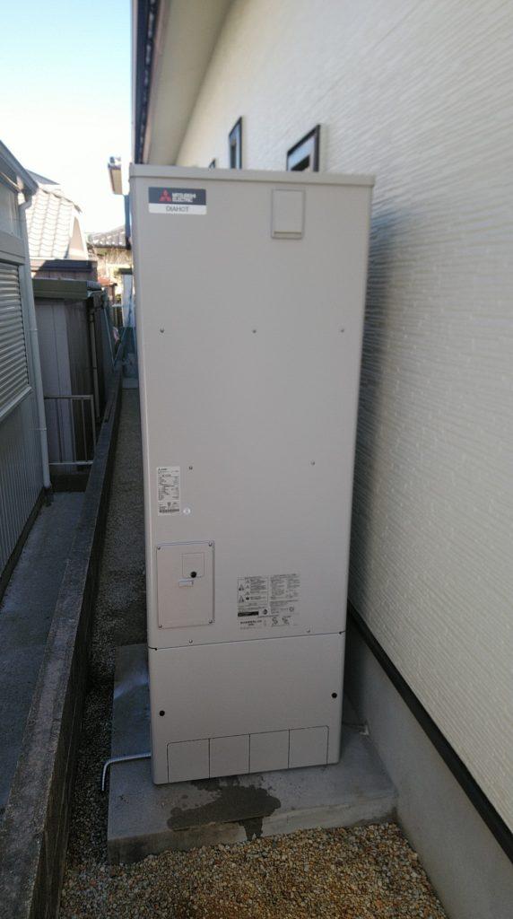 大垣市 エコキュート交換工事 画像