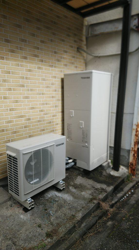 中川区 エコキュート交換工事 画像