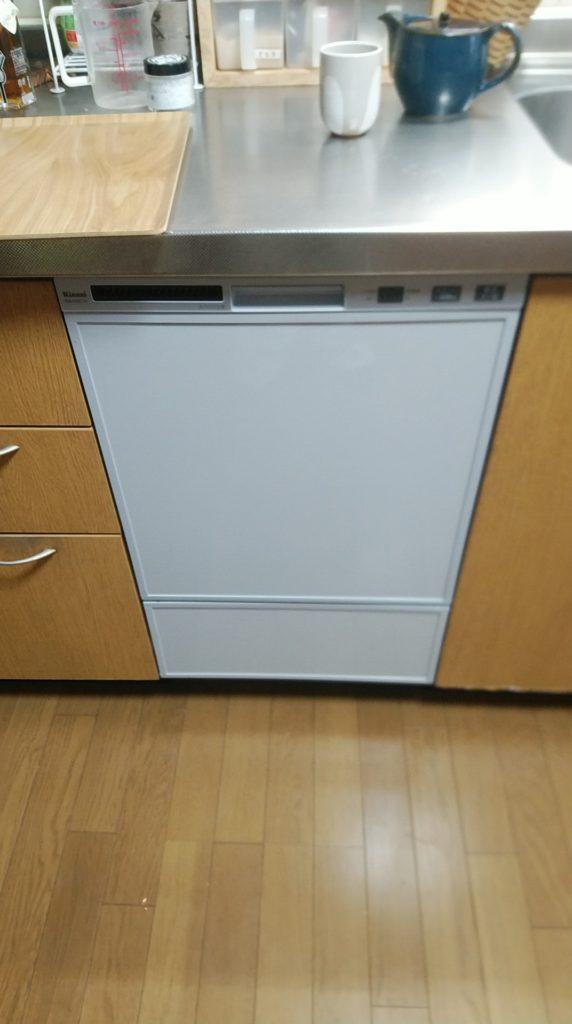 清須市 食器洗浄機交換工事 画像