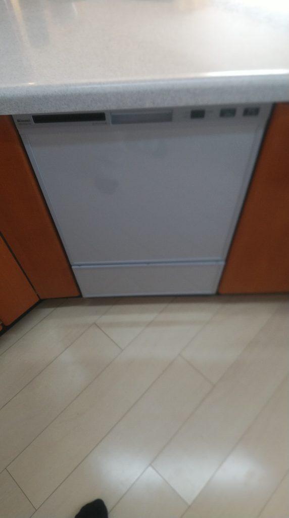 守山区 食器洗浄機交換工事 画像