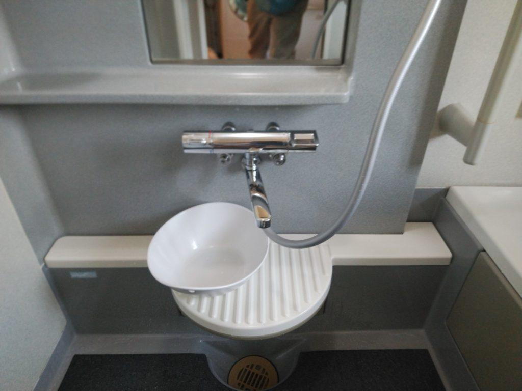 桑名市 シャワーバス水栓交換工事 画像1