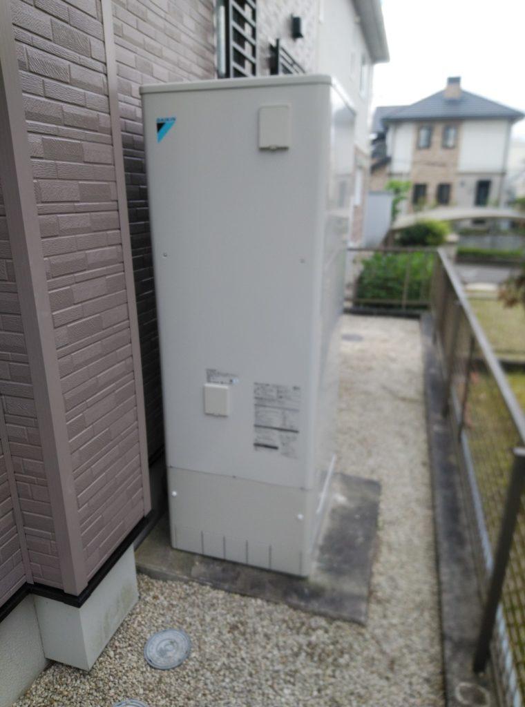 春日井市 エコキュート交換工事 画像