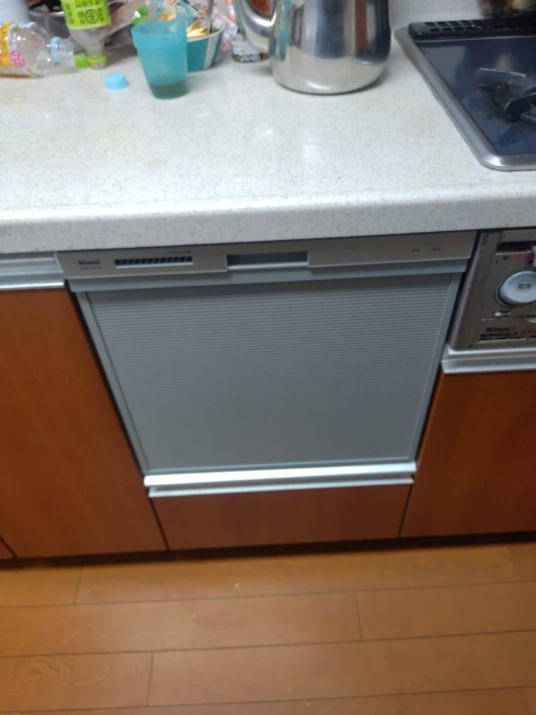名古屋市瑞穂区 食洗機交換工事 画像