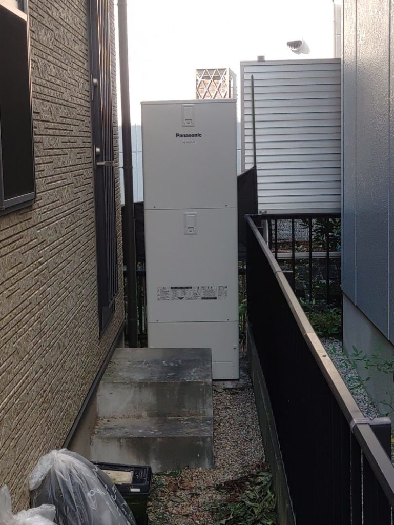 愛西市 エコキュート交換工事 画像