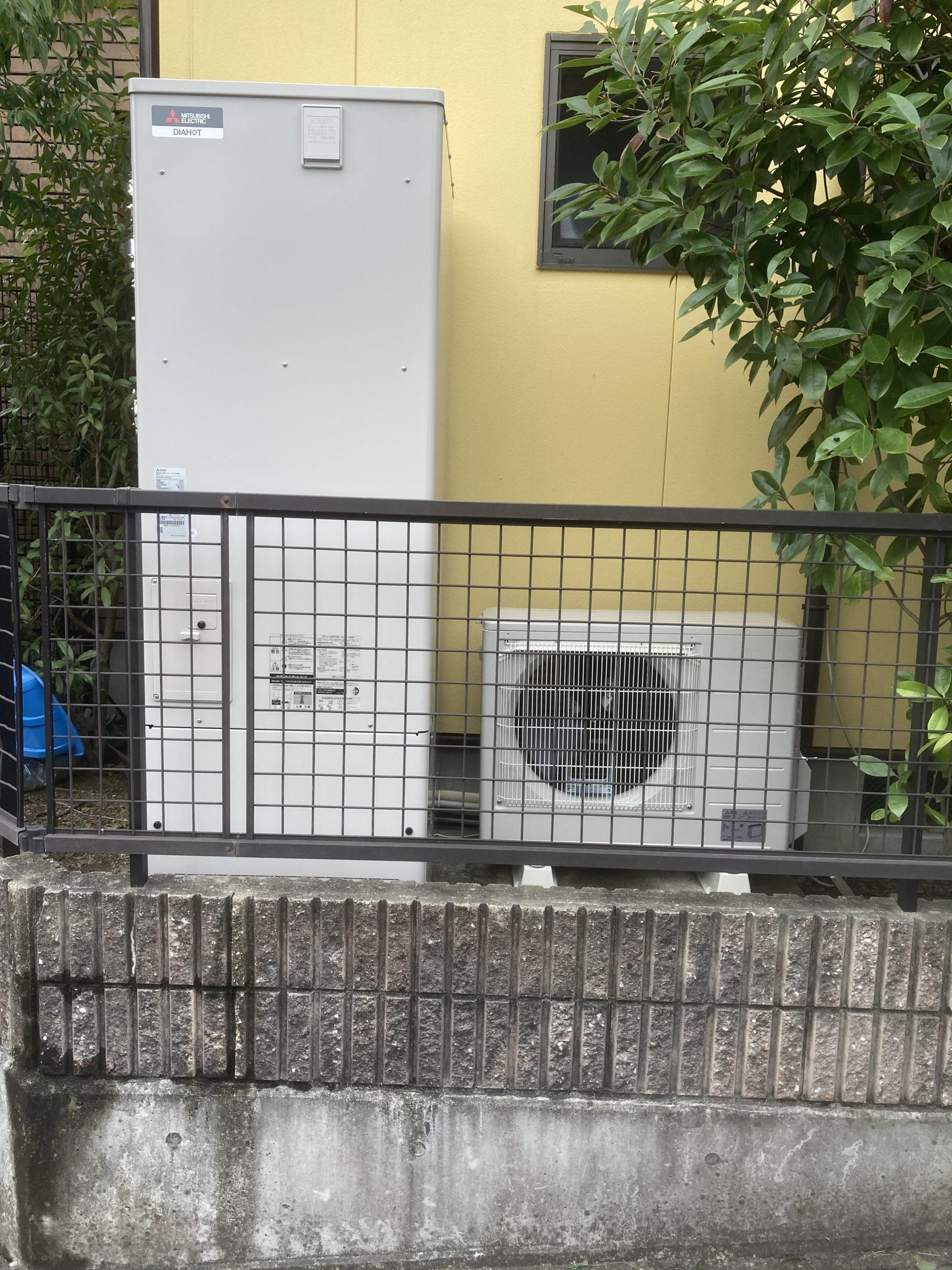 エコキュート交換工事 瀬戸市