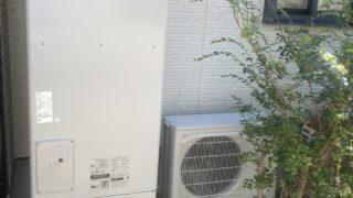 三重郡 エコキュート交換工事 画像