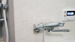 名古屋市 シャワーバス水栓交換工事 画像