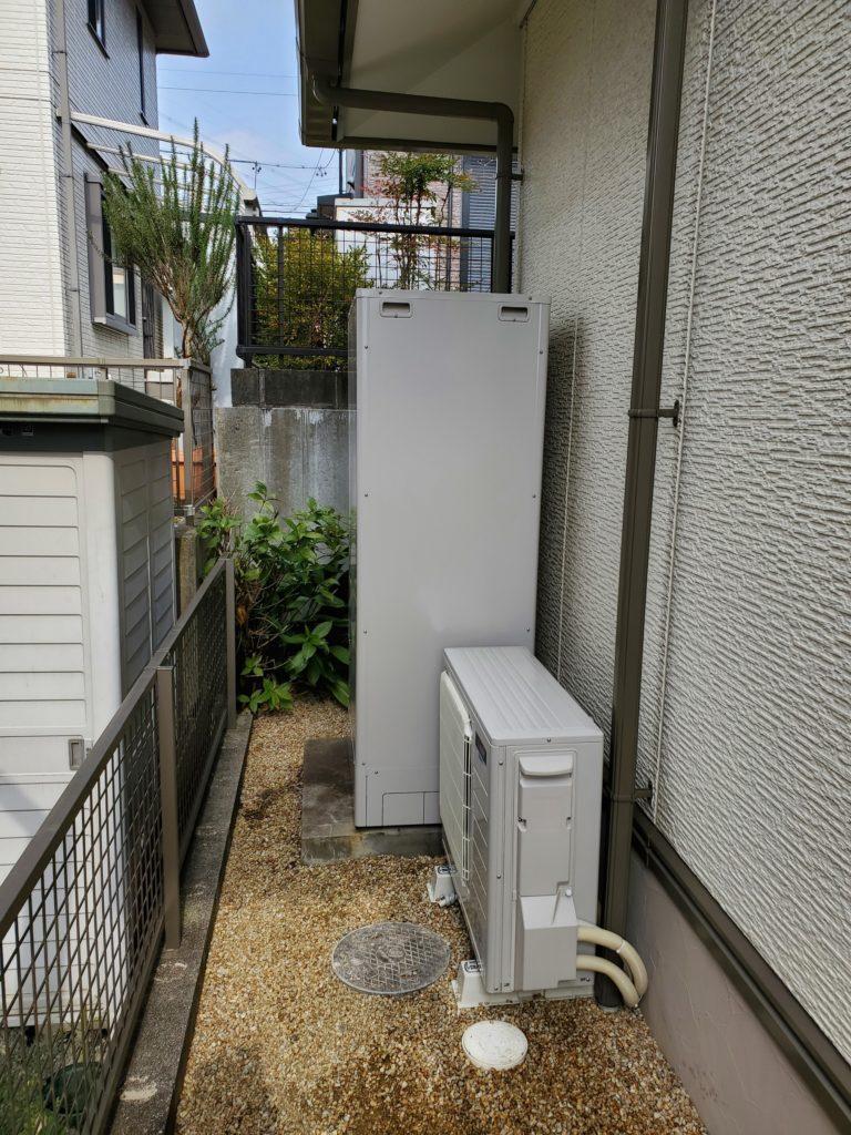 桑名市 エコキュート交換工事 画像