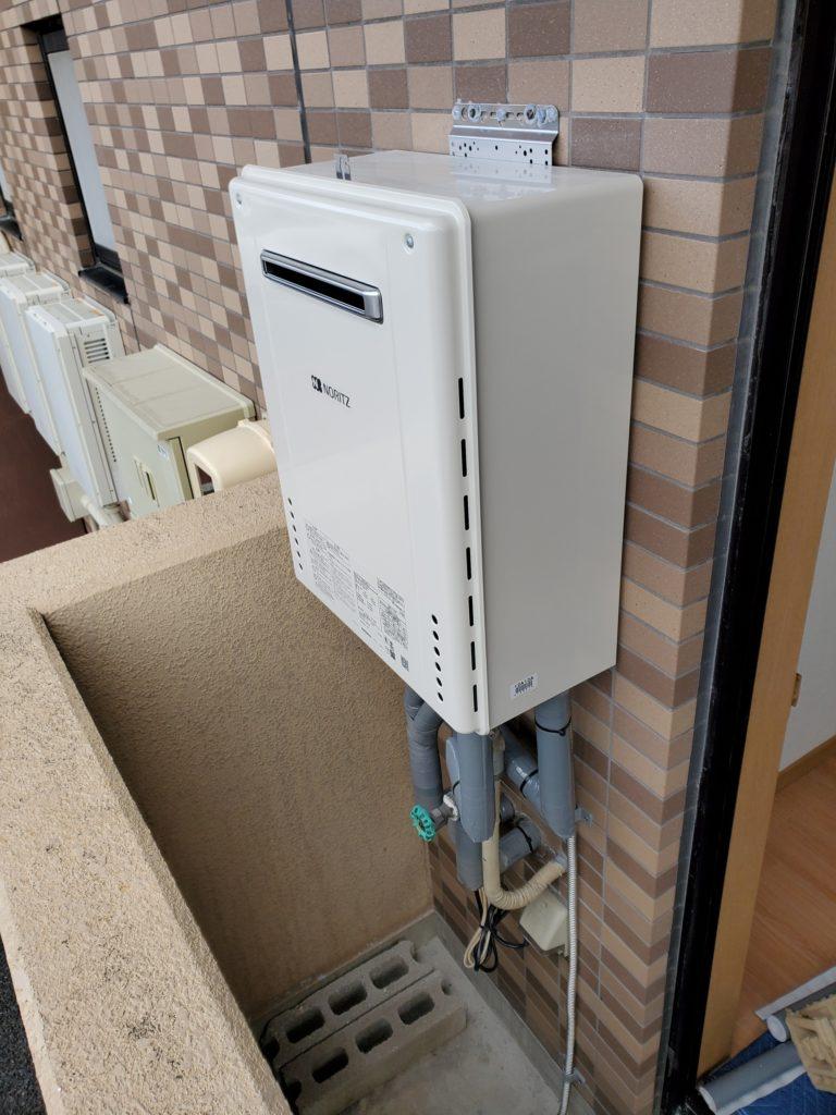 岩倉市 給湯器交換工事 画像