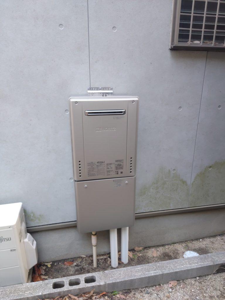 瀬戸市 給湯器交換工事 画像
