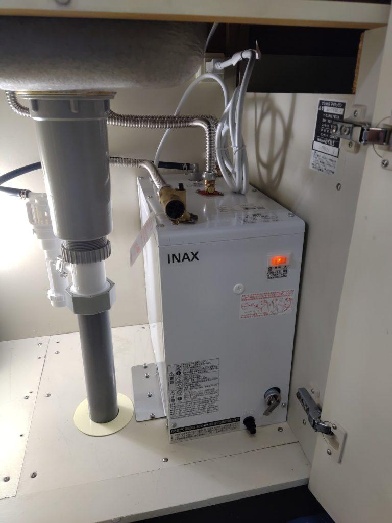 名古屋市千種区 電気温水器交換工事 画像