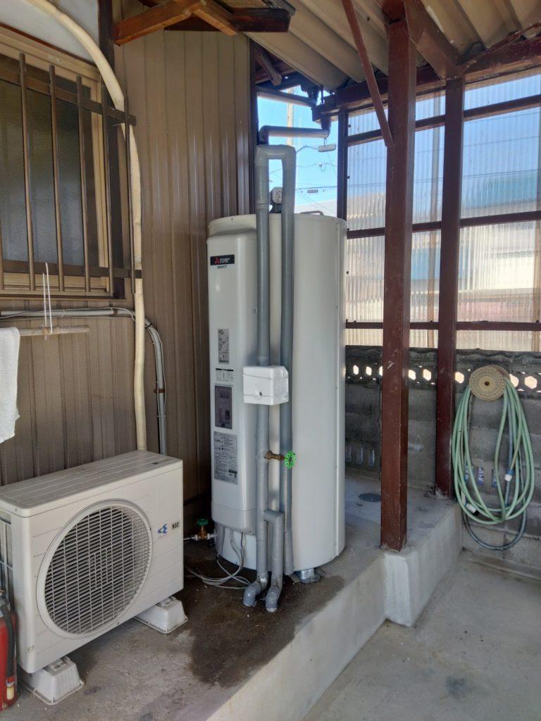 弥富市 電気温水器交換工事 画像