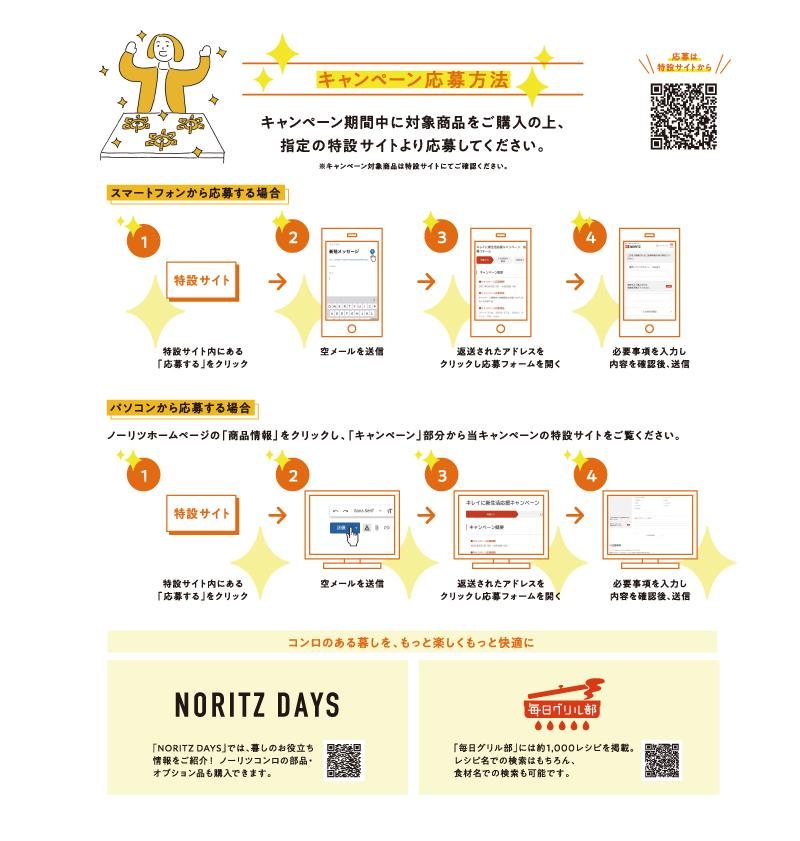 ノーリツ新生活応援キャンペーン2