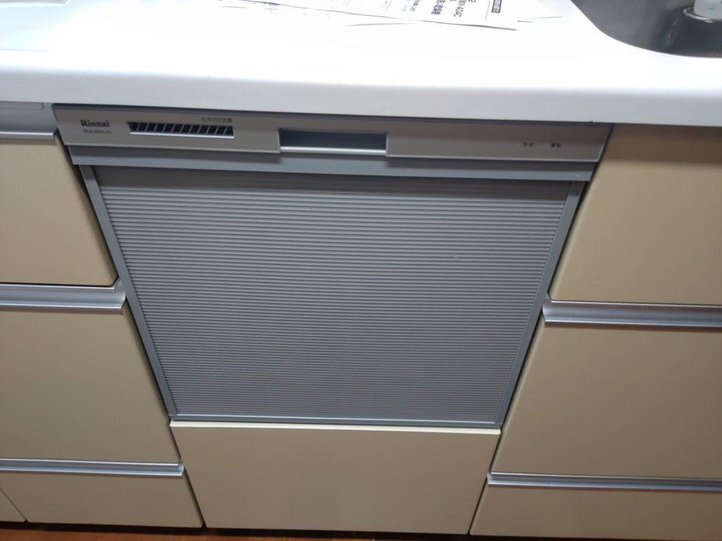 名古屋市 食器洗浄機交換工事 画像