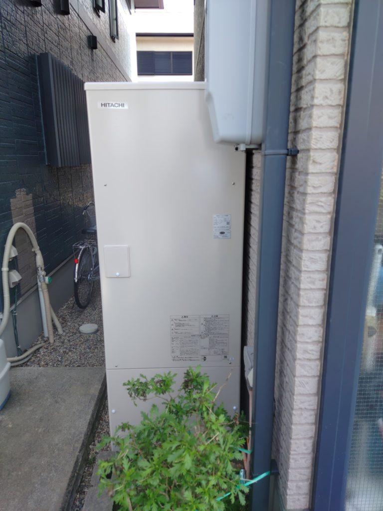 刈谷市 エコキュート交換工事 画像