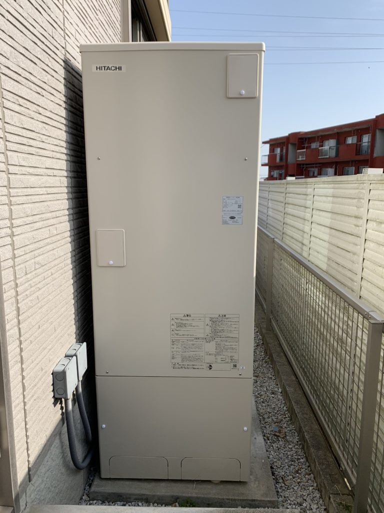 豊橋市 エコキュート交換工事 画像