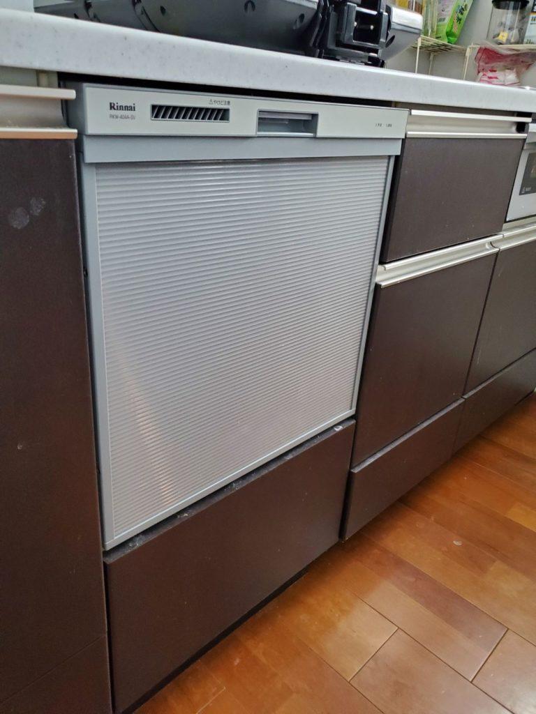 豊明市 食器洗浄機交換工事 画像