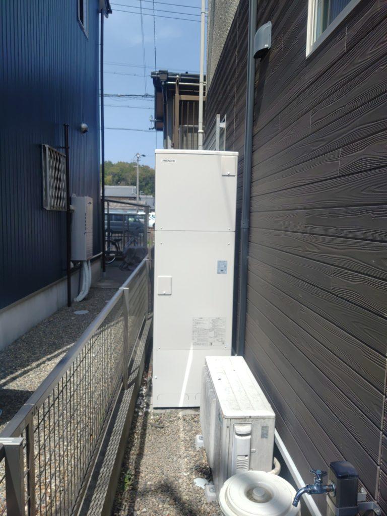 関市 エコキュート交換工事 画像