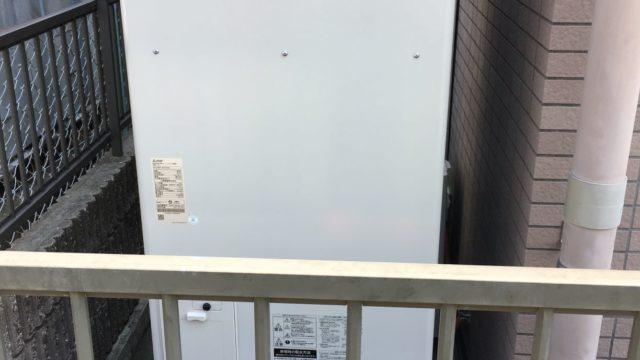 名古屋市 エコキュート交換工事 画像