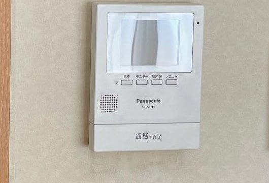 津島市 インターホン交換工事 画像