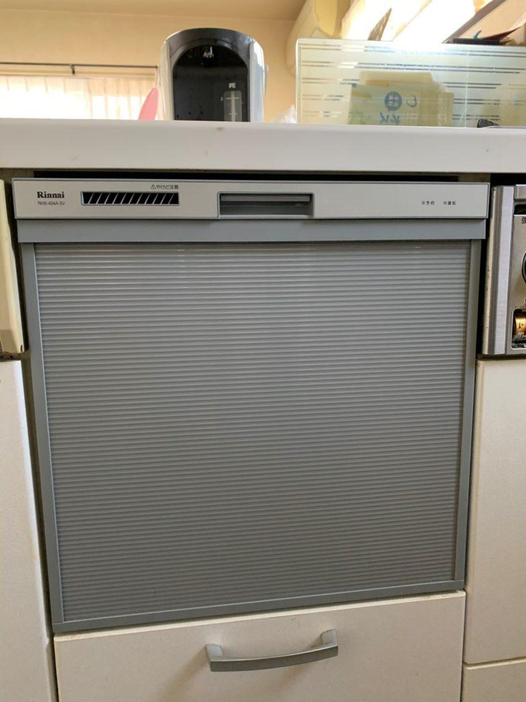 四日市市 食器洗浄機交換工事 画像