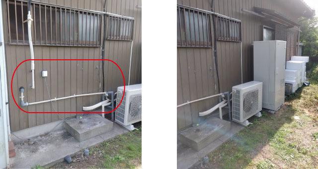 東海市 エコキュート交換工事 画像