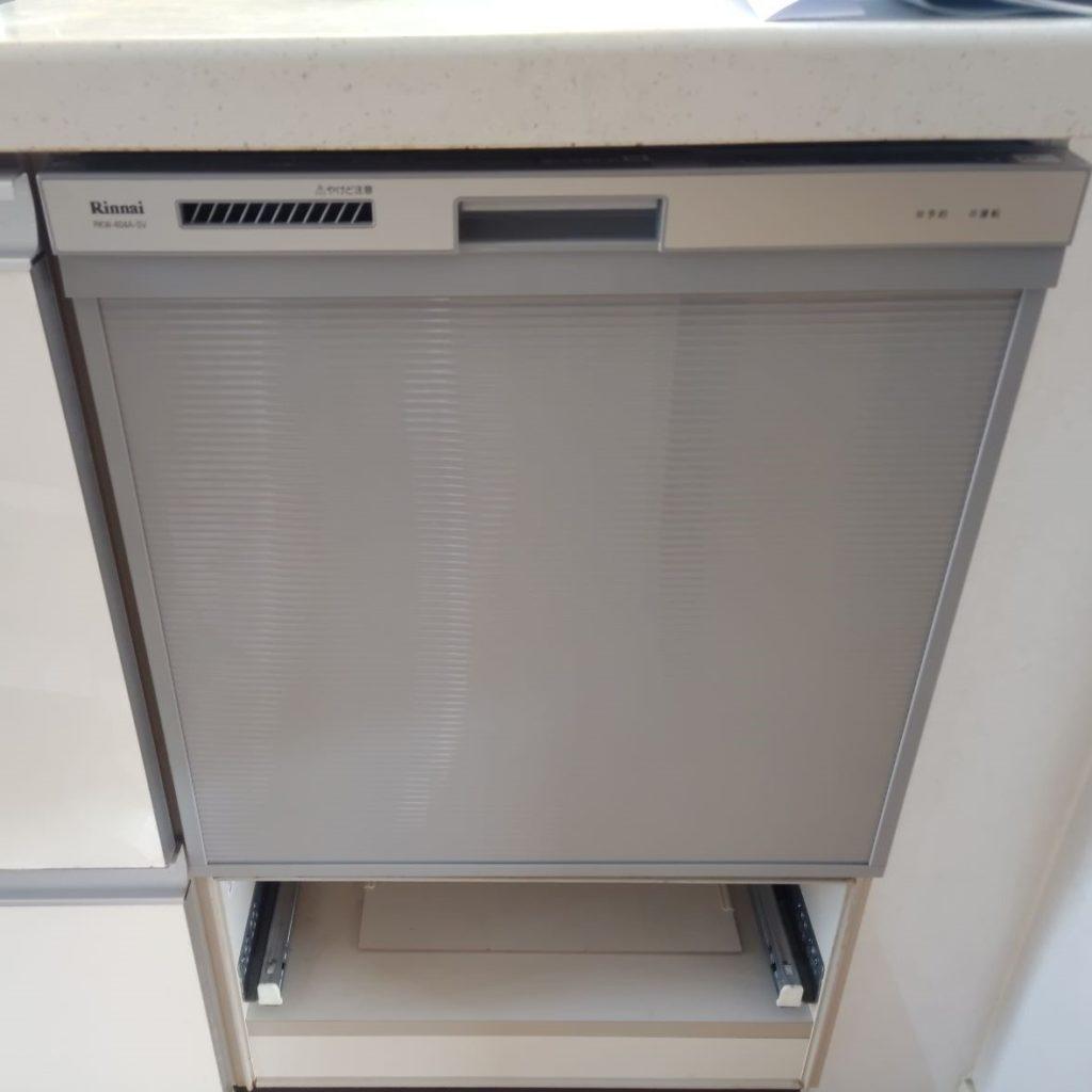 愛西市 食器洗浄機交換工事 画像
