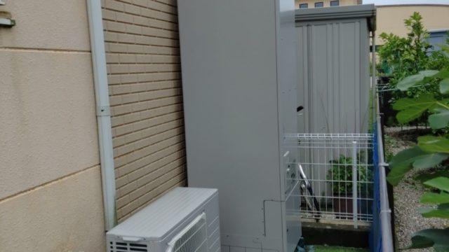 四日市市 エコキュート交換工事 画像