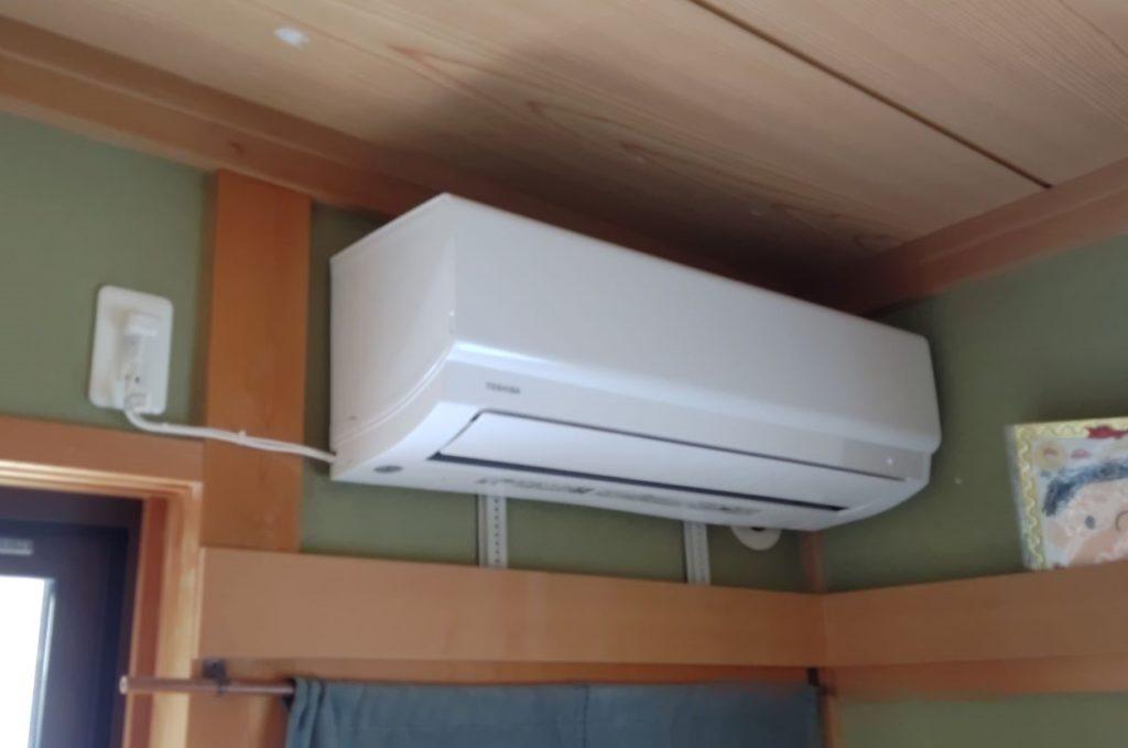 名古屋市 エアコン交換工事 室内機 画像